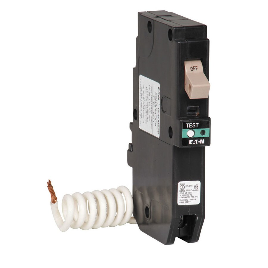 hight resolution of eaton type ch 20 amp 1 pole combination arc fault circuit breaker