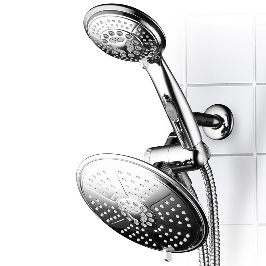 Double Shower Head With Handheld Preferred Home Design