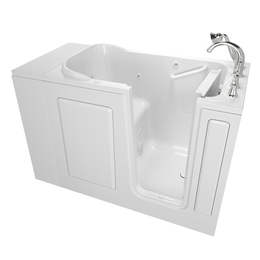 Safety Tubs 48 In White GelcoatFiberglass Rectangular