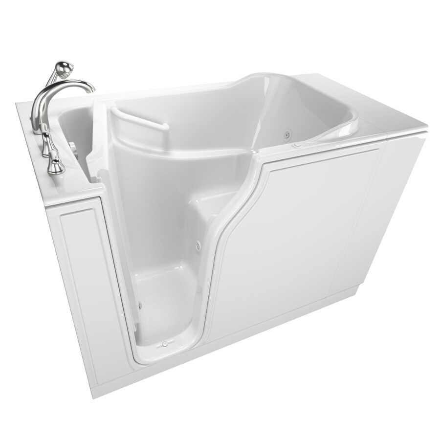 Safety Tubs 515 In White GelcoatFiberglass Rectangular
