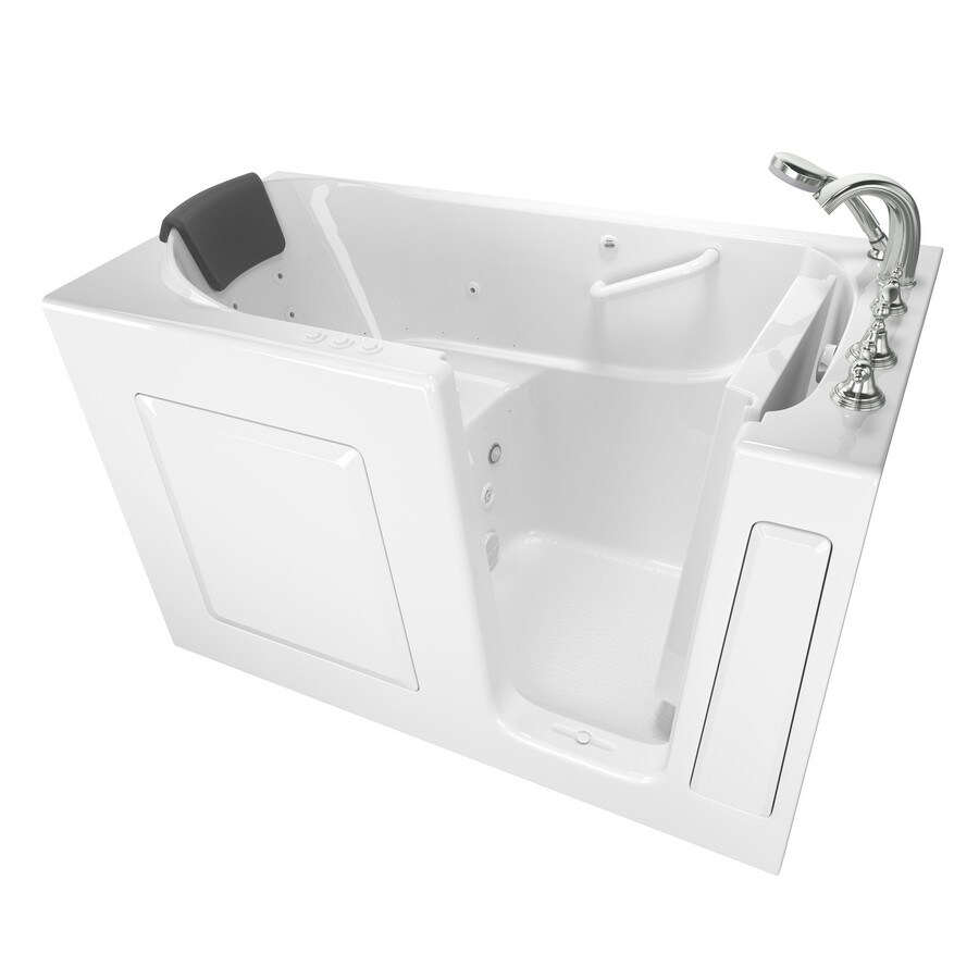 Shop American Standard 595 In White With Right Hand Drain