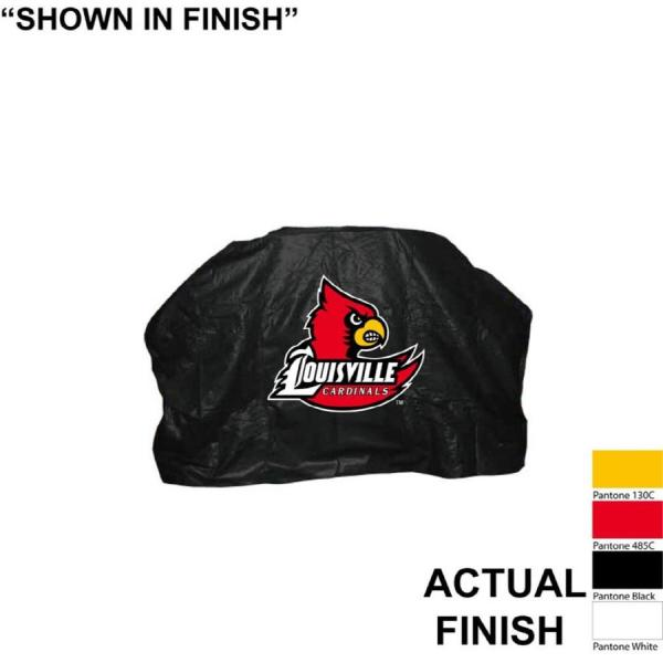 Seasonal Design . Universal 68-in Louisville Cardinals Grill Cover