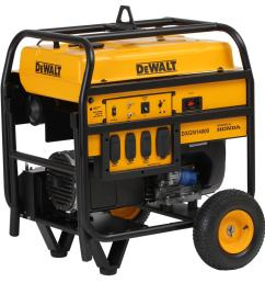 dewalt 11700 running watt gasoline portable generator with honda engine [ 900 x 900 Pixel ]