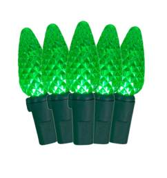ge staybright 70 count 17 25 ft green led plug in christmas string lights [ 900 x 900 Pixel ]