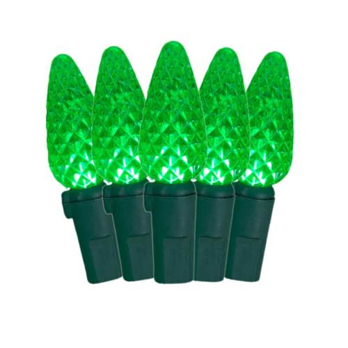 small resolution of ge staybright 70 count 17 25 ft green led plug in christmas string lights