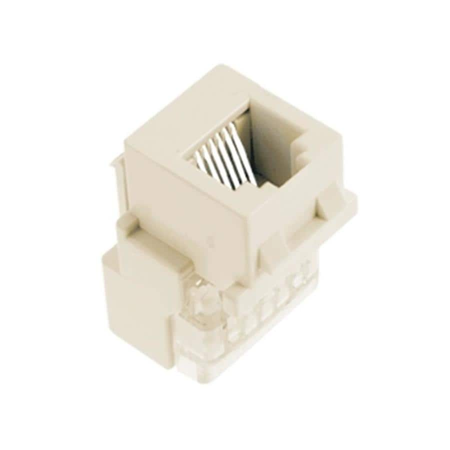 medium resolution of legrand 5 pack plastic rj25 wall jack