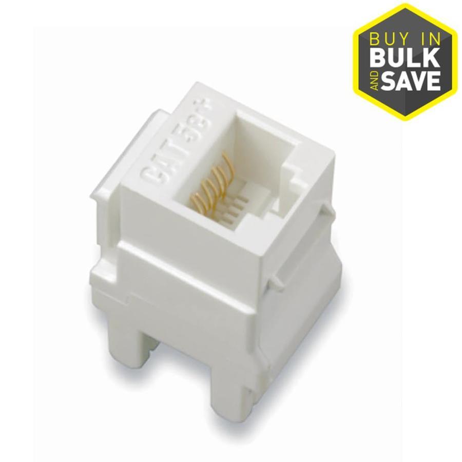 hight resolution of legrand 5 pack plastic cat5e wall jack