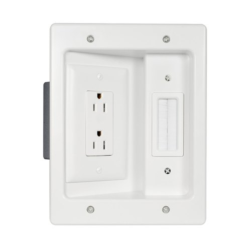small resolution of legrand 2 gang white plastic interior new work old work standard rectangular wall electrical box