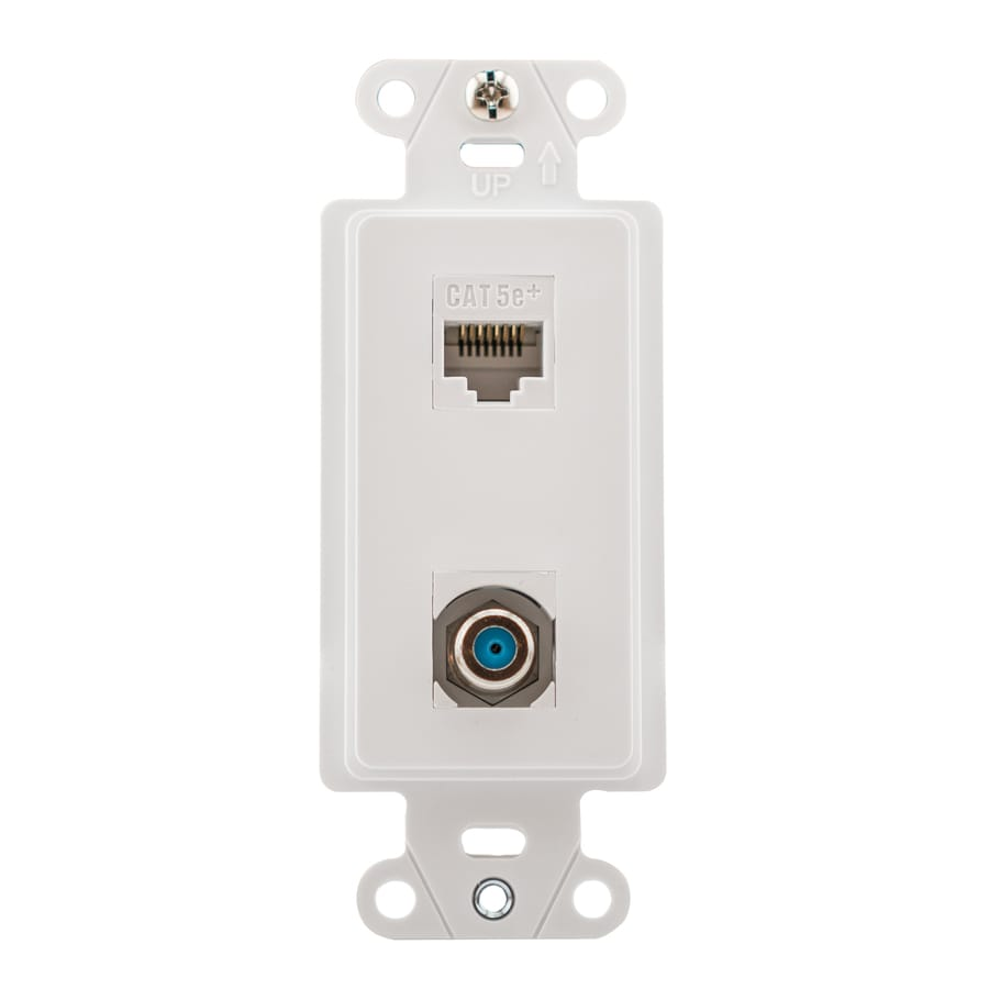 hight resolution of legrand plastic cat5e ethernet wall jack