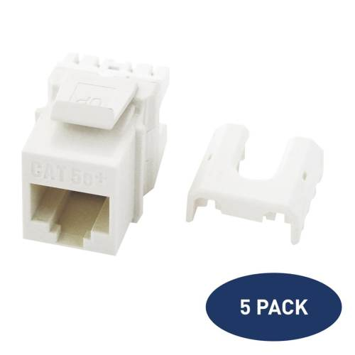small resolution of legrand 5 pack plastic cat5e ethernet wall jack