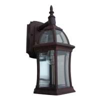 Shop Portfolio Outdoor Wall Light at Lowes.com