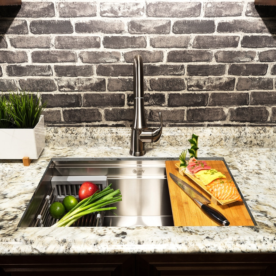 commercial kitchen sink florida design ideas akdy 32 in x 18 stainless steel single basin undermount