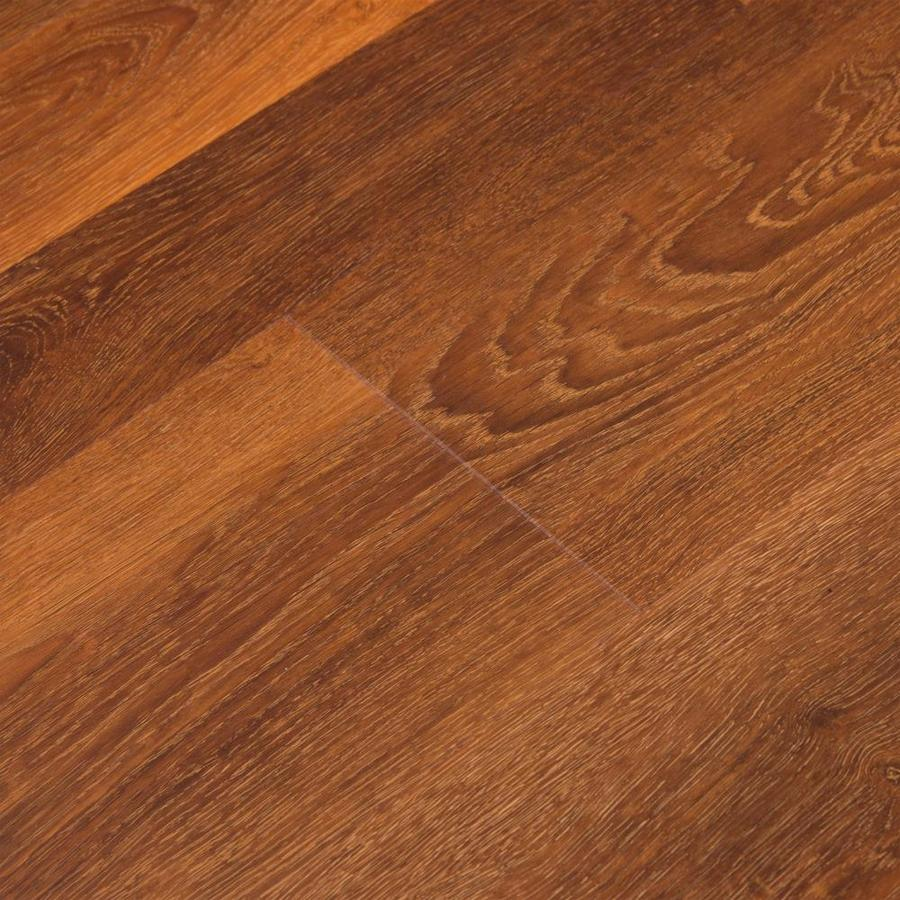 cali vinyl pro classic saddlewood wide thick waterproof interlocking luxury 23 77 sq ft lowes com
