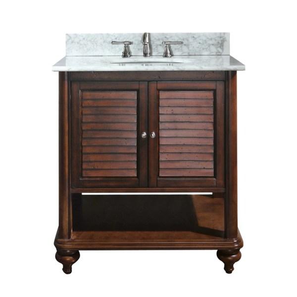 Avanity Tropica Antique Brown Undermount Single Sink