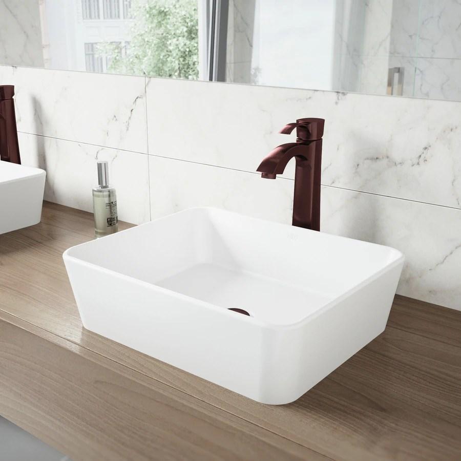 vigo otis oil rubbed bronze 1 handle vessel watersense bathroom sink faucet