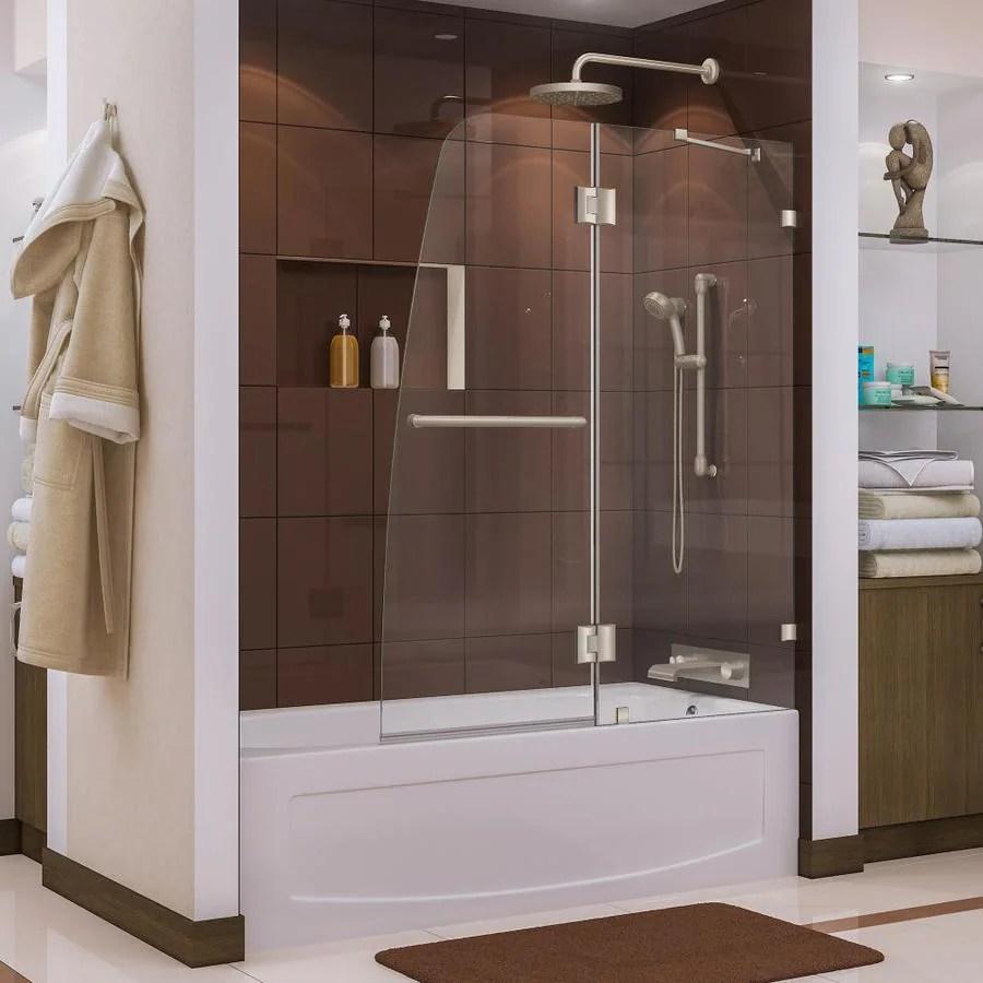 Shop DreamLine Aqua Lux 48 In W X 58 In H Frameless