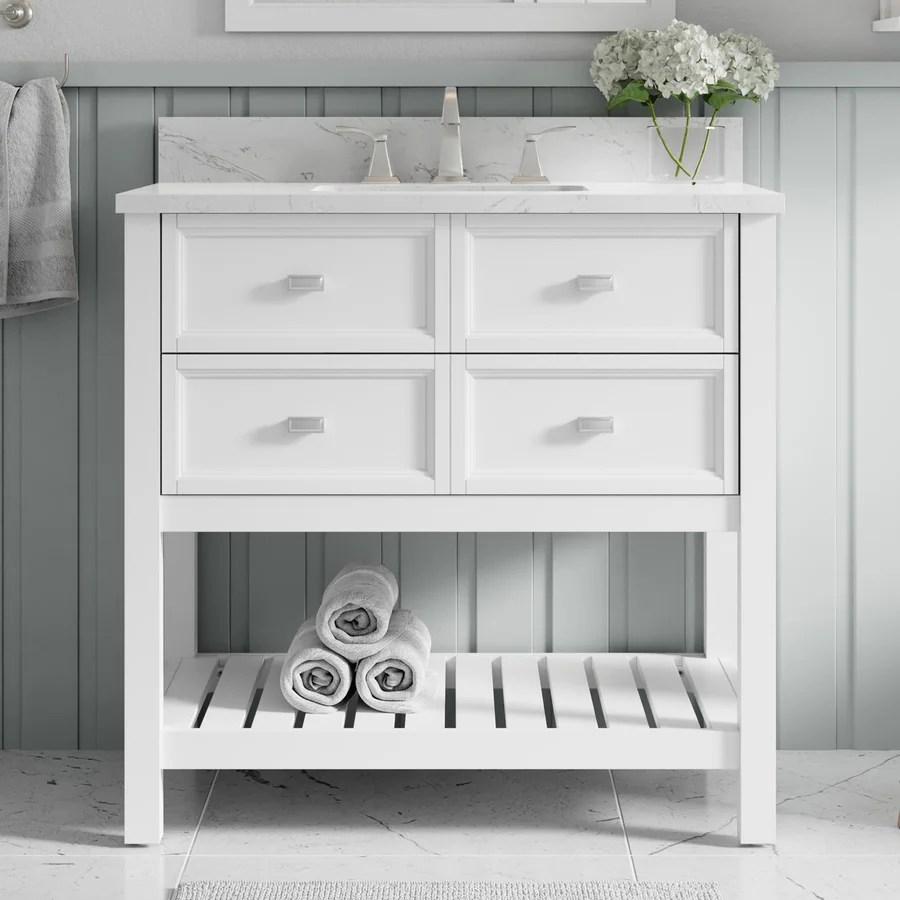 Canterbury Bathroom Vanities At Lowes Com