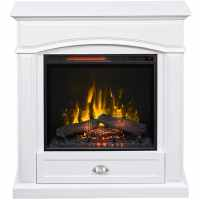 Shop Style Selections Inches W-BTU Electric Fireplace at ...