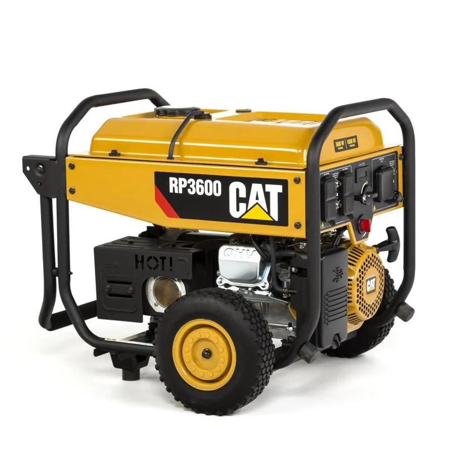 medium resolution of cat rp3600 epa compliant 3600 running watt gasoline portable generator with caterpillar engine