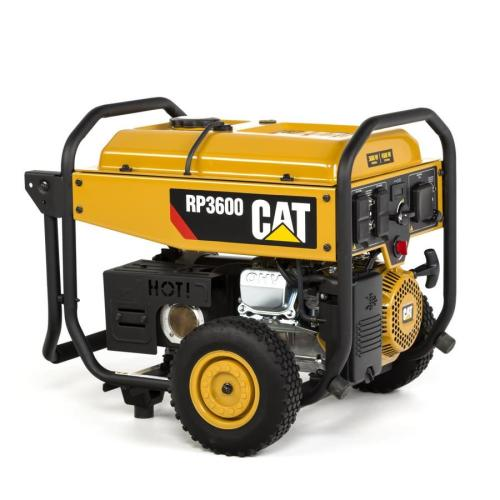 small resolution of cat rp3600 epa compliant 3600 running watt gasoline portable generator with caterpillar engine