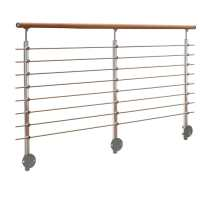 Shop PROVA 6.5-ft Stainless Steel Cable Rail Kit at Lowes.com