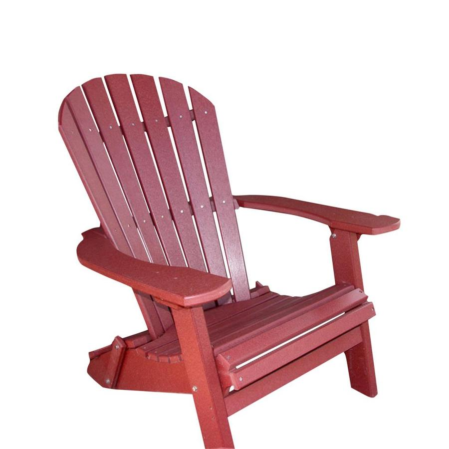 poly wood adirondack chairs office max desk chair phat tommy merlot recycled folding patio at