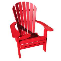Red Adirondack Chairs Designboom Chair Phat Tommy Fire Engine Recycled Poly Folding Patio