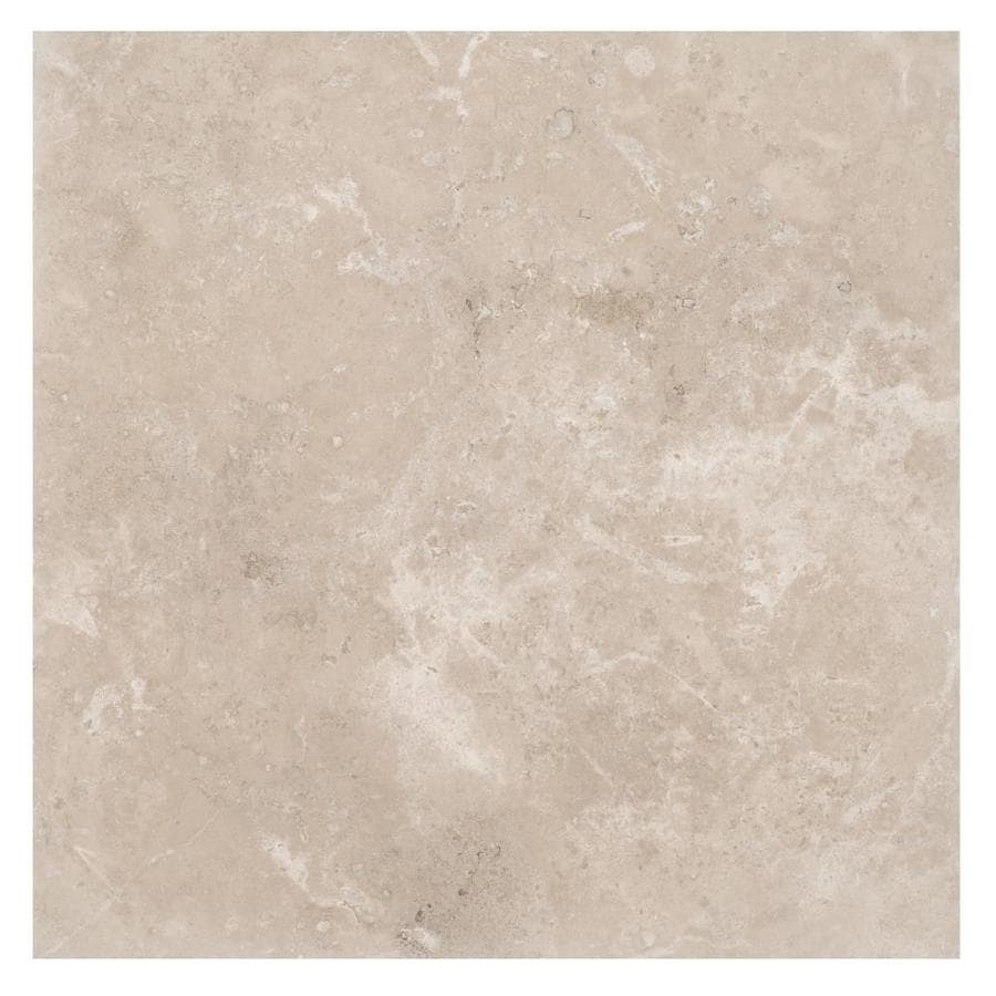 travertine 18 in x 18 in tile at lowes com