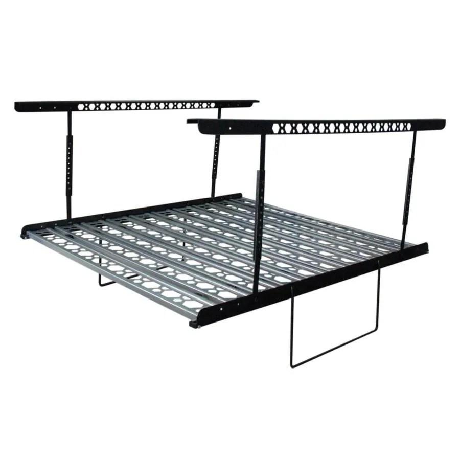 Shop Kobalt 60-in W x 40-in D Gray Steel Overhead Garage