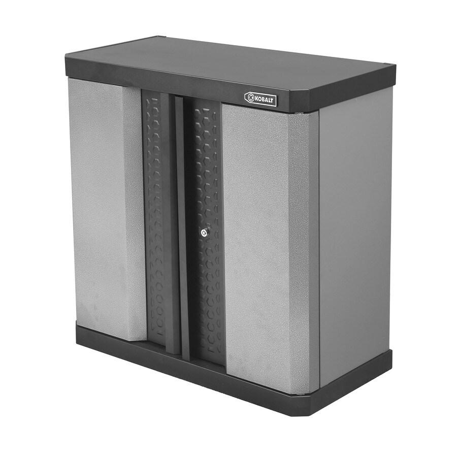 Kobalt 30in H x 30in W x 145in D Metal Garage Cabinet