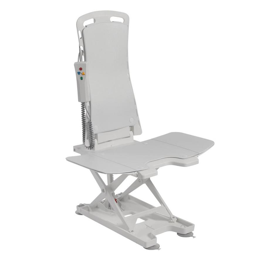 drive shower chair weight limit difference between and tub transfer bench medical white plastic freestanding seat at lowes com