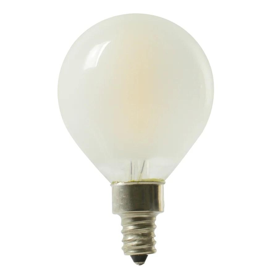 Shop Kichler 40w Equivalent Dimmable Soft White G165 Led