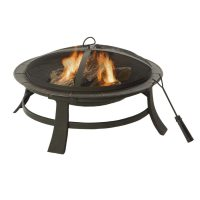 Shop Garden Treasures Steel Fire Pit at Lowes.com