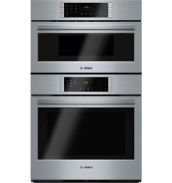 bosch self cleaning convection microwave wall oven combo stainless steel common 30 inch actual 29 75 in  [ 900 x 900 Pixel ]