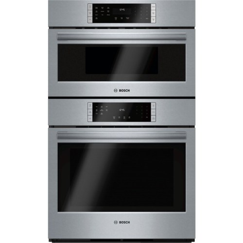 small resolution of bosch self cleaning convection microwave wall oven combo stainless steel common 30 inch actual 29 75 in