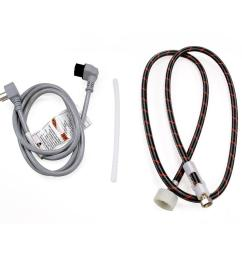 bosch dishwasher water supply hose and accessory power cord bundle [ 900 x 900 Pixel ]