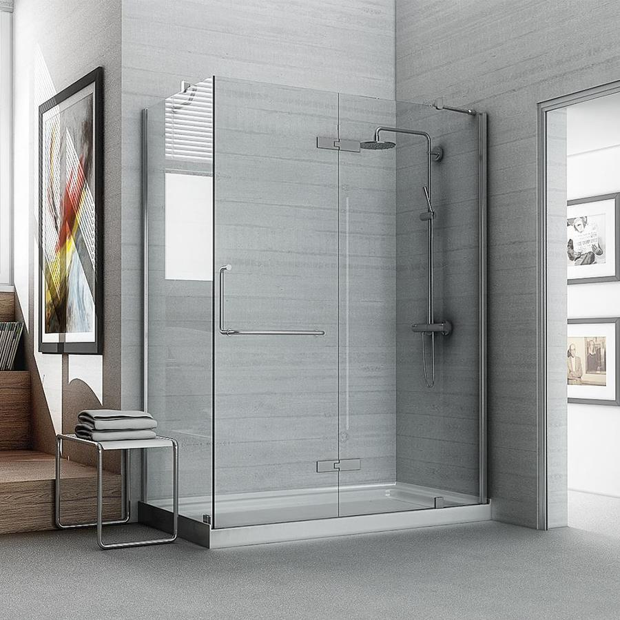 Shop OVE Decors Shelby 740 In H X 3025 In W Shower Glass