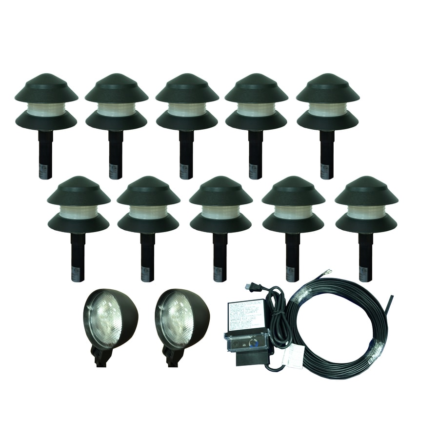 portfolio 4 watt black low voltage plug