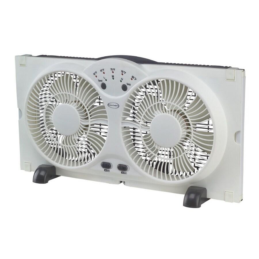 feature comforts 9 twin window fan in