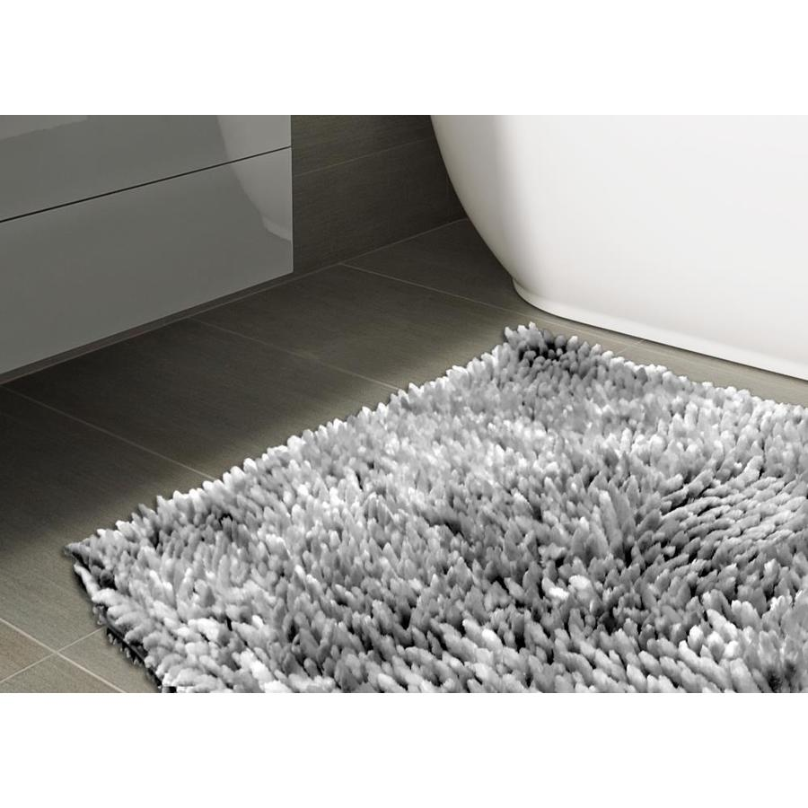 Style Selections Open Stock Rug 20 In X 32 In Polyester Bath Rug In The Bathroom Rugs Shower Mats Department At Lowes Com