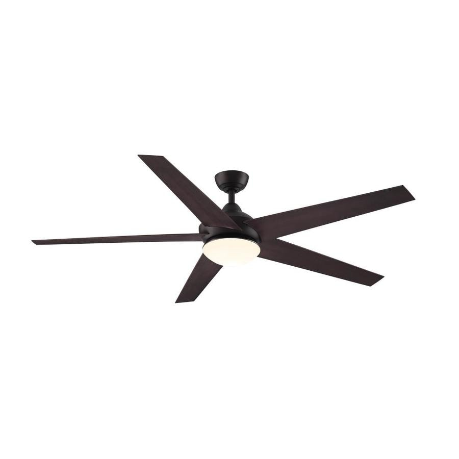 hight resolution of fanimation studio collection covert 64 in bronze led indoor outdoor ceiling fan with light