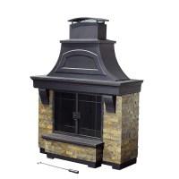 Shop Sunjoy Black Steel Outdoor Wood