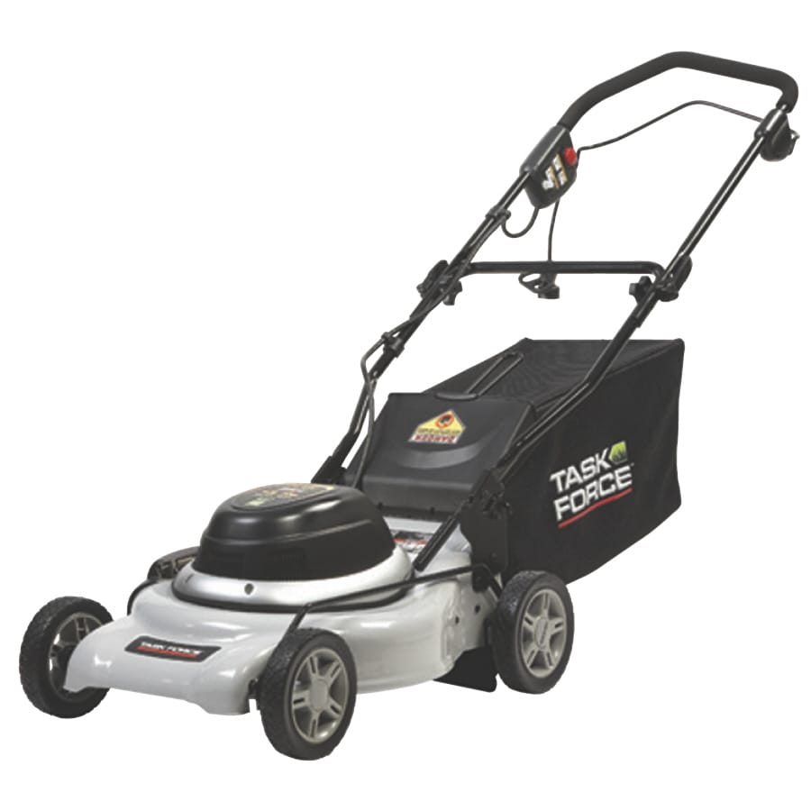 medium resolution of task force 12 amp 18 in corded electric push lawn mower