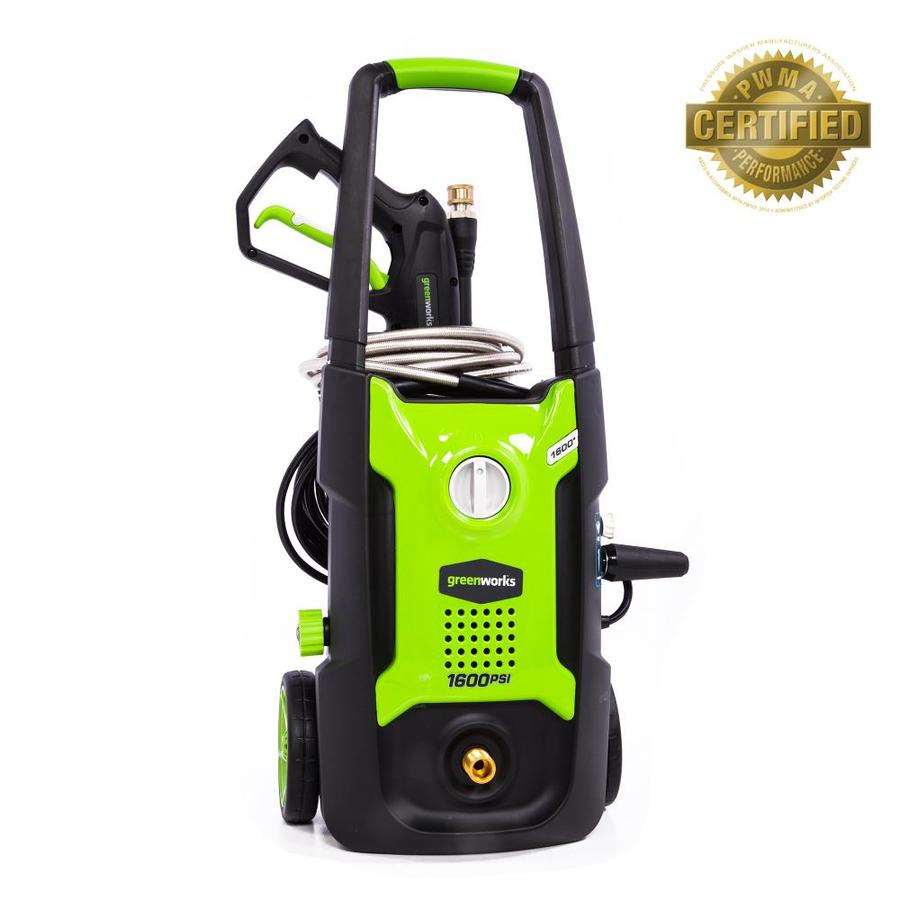 Shop Greenworks 1600psi 12gallongpm Cold Water
