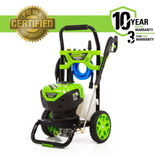 small resolution of greenworks pro 2300 psi 2 3 gpm cold water electric pressure washer