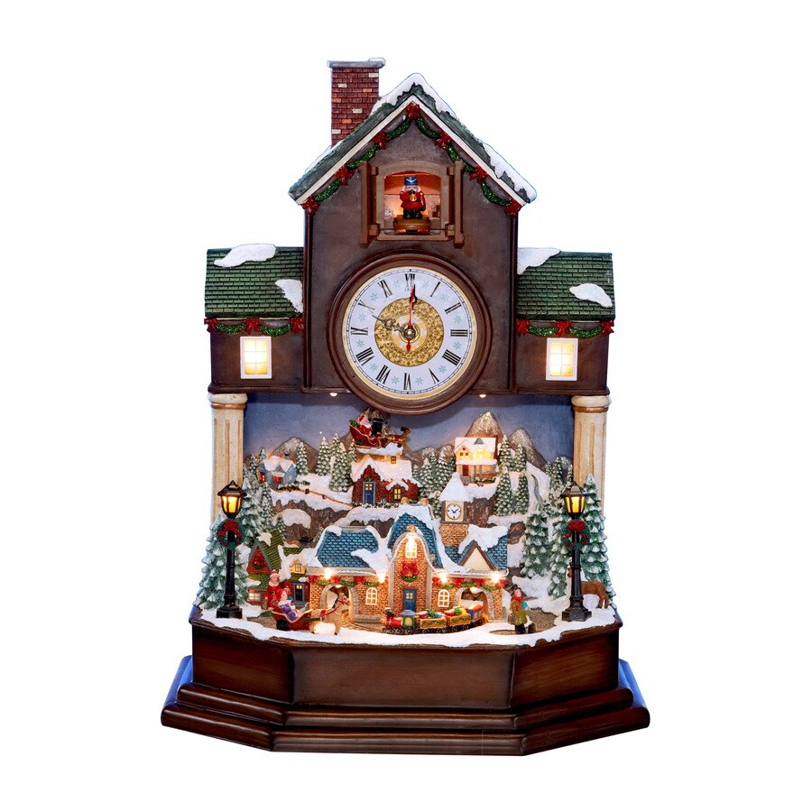 Shop Holiday Living HL Brees Coo Coo Clock Lighted