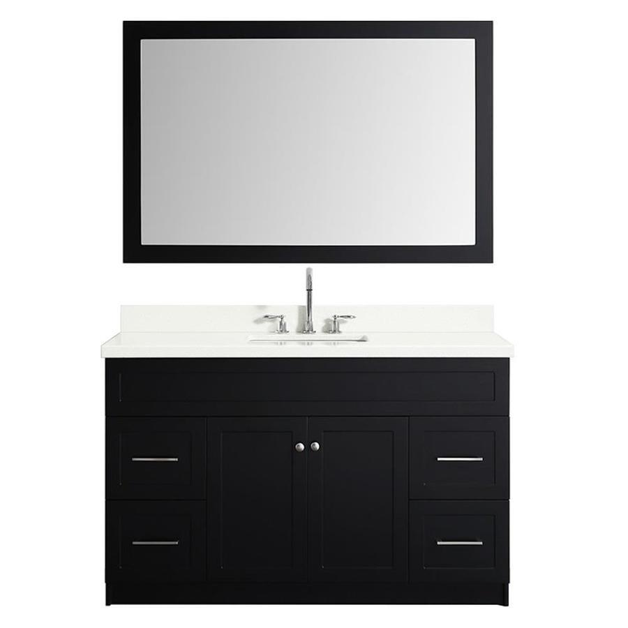 in the bathroom vanities with tops