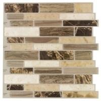 Shop Peel&Stick Mosaics Peel and Stick 4-Pack VERONA BEIGE ...