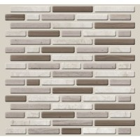 Shop Peel&Stick Mosaics Peel and Stick 4-Pack CANYON RIDGE ...