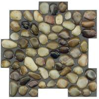 Shop Peel&Stick Mosaics Peel and Stick ROCKY ROAD Linear ...